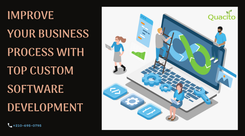 Improve your business process with custom software development!