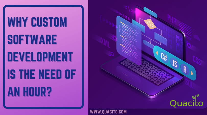 Why Custom Software Development Is The Need Of An Hour